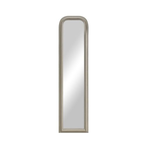 . Arched Leaner Mirror White